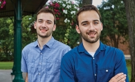 Mahtomedi High School grads and brothers Christian and Aidan Golish