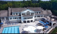 An aerial view of the remodel at White Bear Yacht Club.