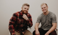 Koselig Candle Co co-founders Matt Kruger & Blake Anderson