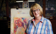 St. Paul Public Schools Community Education arts teacher artist Heidi Nelson