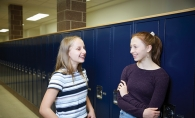 Teri Schifsky and Grace Newman, who inspired a new mental health program at Mahtomedi Public Schools
