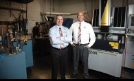Tim Bartz, left, and Justin McPhee, owners of Mold Craft, have taken their Willernie business to a whole new level of success.