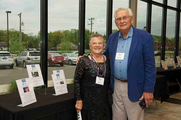 Kathy & Gene Johnson at the Lakeshore Players Theatre Annual Fundraiser