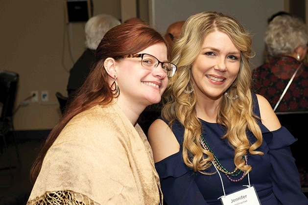 Melissa Niederkorn & Jennifer Hallingstad at the Lakeshore Players Theater Annual Fundraiser