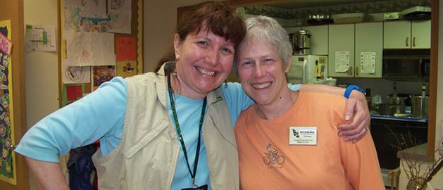 Mary Gregory and Robin Thayer