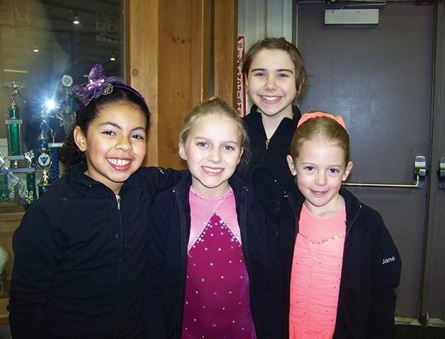 Anya London, Amelia Selstad, Lucy Durben and Jane Olney