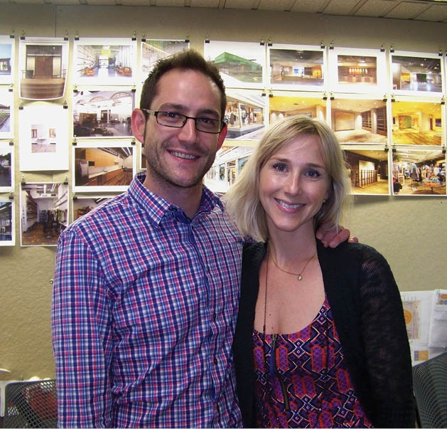 Nathan Reid and Debbie Whitaker