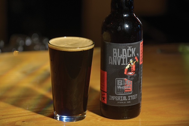 Big Wood Brewery's Black Anvil