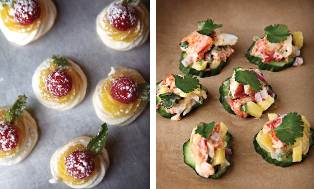 Margaret doran of margaux s table shares recipes for for Canape ideas for dinner party