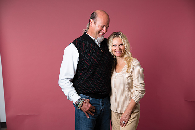 Pete and Lisa Najarian