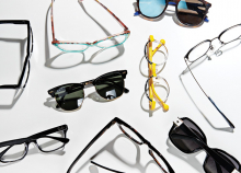 A variety of trendy glasses from White Bear Eye Clinic & Optical