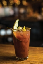 A bloody mary from Washington Square in White Bear Lake
