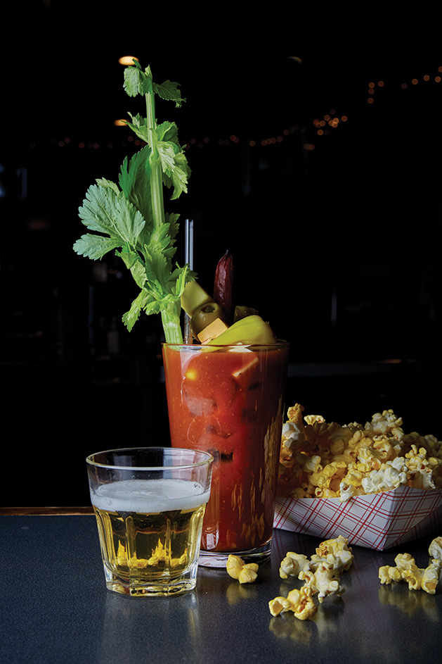 A bloody mary from Bunny's Bar & Grill in St. Louis Park